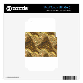 gold #2 decal for iPod touch 4G