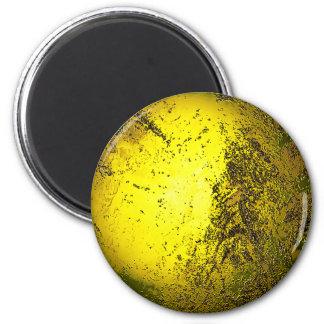 Gold 2 Inch Round Magnet