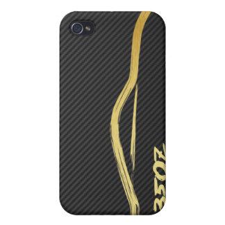 Gold 350z Brush Stroke 4g iPhone 4/4S Cover