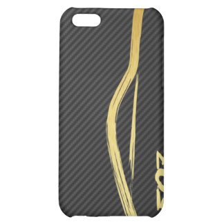 Gold 350z Brush Stroke 4g iPhone 5C Cases
