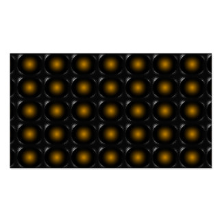 Gold 3D Illusion Unusual Business Card 3