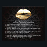 """Gold 3D Lips Beauty Salon Makeup Instruction Tips Flyer<br><div class=""""desc"""">================= ABOUT THIS DESIGN ================= Gold 3D Lips Beauty Salon Makeup Instruction Tips Flyer. (1) For further customization, please click the &quot;Customize it&quot; button and use our design tool to modify this template. All text style, colors, sizes can be modified to fit your needs. (2) If you need help or...</div>"""