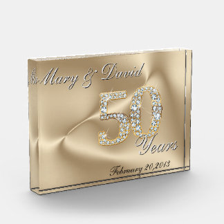 Gold 50 Year Anniversary Award