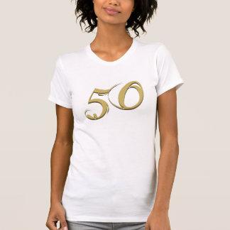 Gold 50th Birthday Gifts T-Shirt