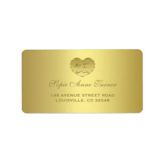 Gold 50th Wedding Anniversary We still DO Label