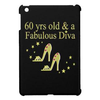 GOLD 60 YRS OLD AND A FABULOUS DIVA iPad MINI COVER