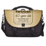Gold 60th Birthday Celebration World Best Fabulous Commuter Bag