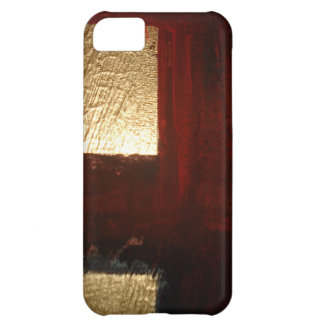Gold Abstract Cover For iPhone 5C