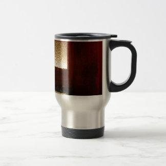 Gold Abstract Coffee Mug