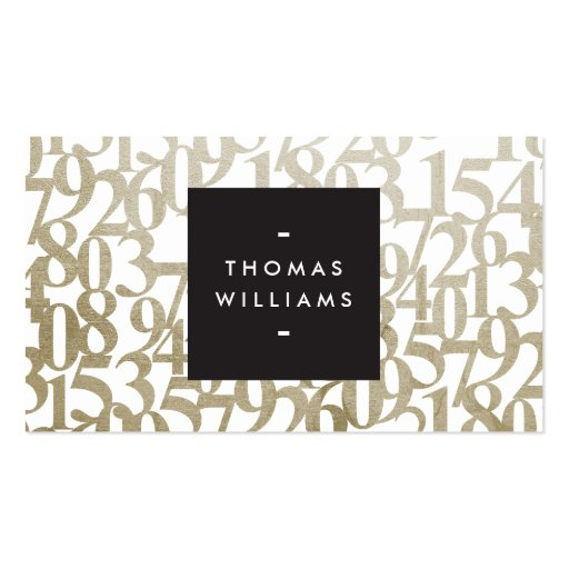 Certified public accountant business card templates bizcardstudio gold abstract numbers for accountants accounting business cards cheaphphosting Choice Image