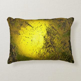 Gold Accent Pillow