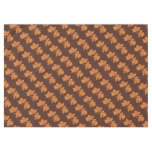 Gold Accented Marbled Autumn Leaves Table Cloth Tablecloth