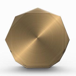 Gold Acrylic Award