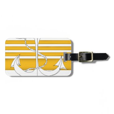 gold admiral of the fleet, tony fernandes bag tag