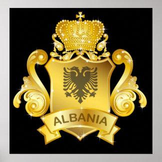 Gold Albania Poster
