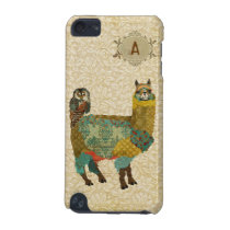Gold Alpaca & Teal Owl Case