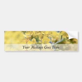 Gold Alyssum - Perennial Bumper Sticker