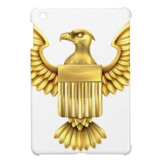 Gold American Eagle Shield iPad Mini Cover