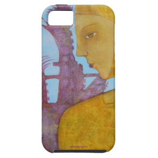 Gold and Berry Phone Case iPhone 5 Cases