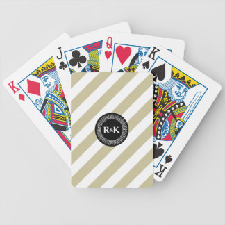 Gold and Black Bicycle® Poker Playing Cards