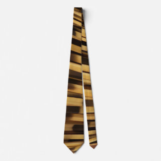 Gold and Black Blur Mens Tie