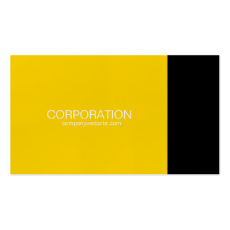 Gold and black classy business card