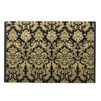 Gold and Black Elegant Damask Pattern Powis iPad Air 2 Case