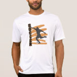Gold and Black Male Soccer Player T shirts