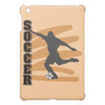 Gold and Black Male Soccer Player T shirts iPad Mini Cases