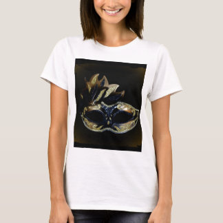 Gold and Black Mask T-Shirt