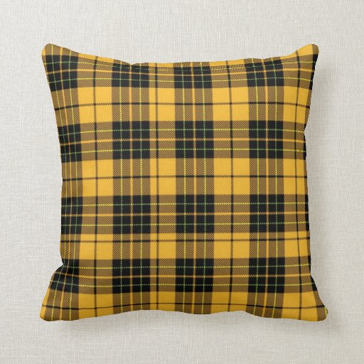 Gold and black plaid throw pillow zazzle Define plaid