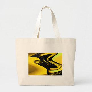 Gold And Black Pop Art Tote Bag