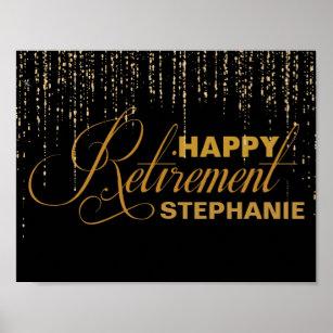 retirement party posters photo prints zazzle