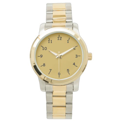 Gold and Black Watch