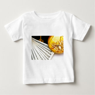 Gold And Cash Baby T-Shirt