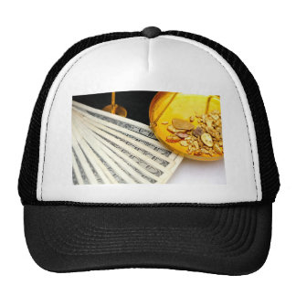 Gold And Cash Trucker Hat