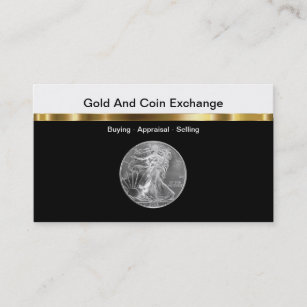Coin business cards templates zazzle gold and coin collecting business card colourmoves
