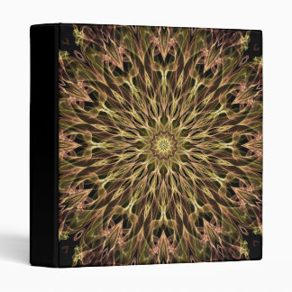 Gold and Copper Kaleidoscope Binder