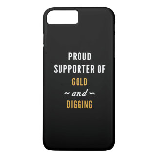 Gold And Digging iPhone 8 Plus/7 Plus Case