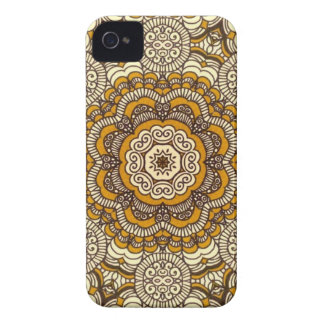 Gold And Filigree Phone Case