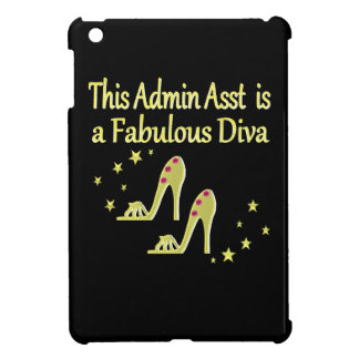GOLD AND GLITZY ADMIN ASST SHOE LOVER DESIGN iPad MINI COVERS