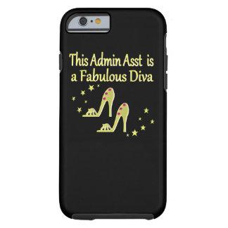 GOLD AND GLITZY ADMIN ASST SHOE LOVER DESIGN TOUGH iPhone 6 CASE