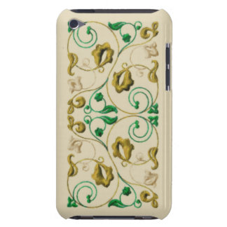 Gold and Green Vine Barely There iPod Case