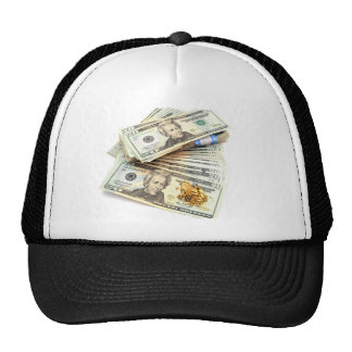 Gold And Money Trucker Hat