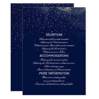 Starry Night Invitations & Announcements | Zazzle