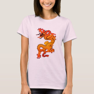Gold and Orange Dragon for Chinese New Year T-Shirt