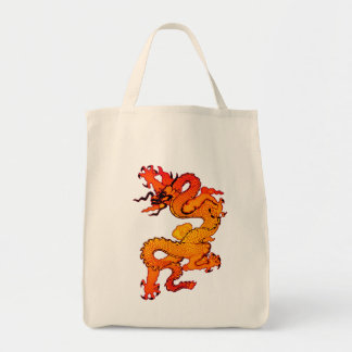 Gold and Orange Dragon for Chinese New Year Tote Bag