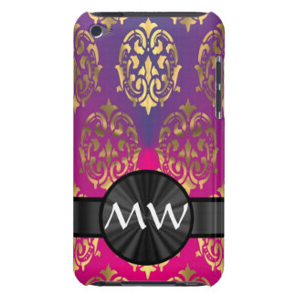 Gold and pink purple iPod touch covers