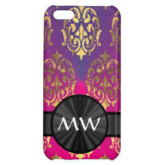 Gold and pink purple iPhone 5C covers
