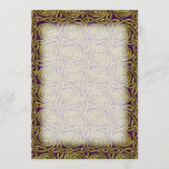 Gold And Purple Celtic Spiral Knots Pattern